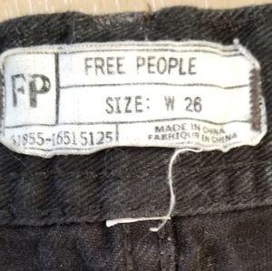 Free People Shorts - Free people shark bit shorts, size 26